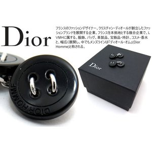 P10倍 Dior homme ディオールオム リトルダブルボタンカフス 【アウトレット】|cufflink