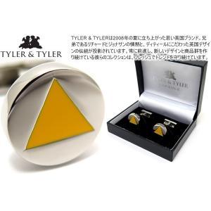 P10倍 TYLER & TYLER タイラー&タイラー カプセルオーサーカフス(ワイルドイエロー) ブランド|cufflink