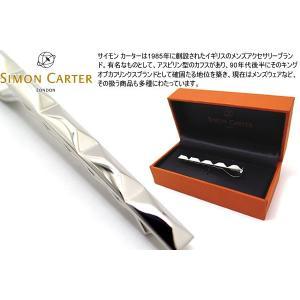 SIMON CARTER サイモン・カーター ファセットタイスライド (カフスボタン カフリンクス)|cufflink