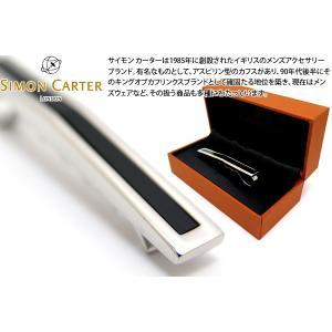 SIMON CARTER サイモン・カーター オニキスアーチタイスライド (カフスボタン カフリンクス)|cufflink
