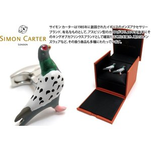 SIMON CARTER サイモン・カーター ロンドンピジョンカフス (カフスボタン カフリンクス)|cufflink