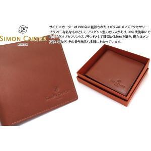 SIMON CARTER サイモン・カーター スリムウォレット(タン) (折り畳み財布)|cufflink