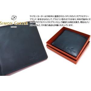 SIMON CARTER サイモン・カーター レッドエッジレザーウォレット (折り畳み財布)|cufflink