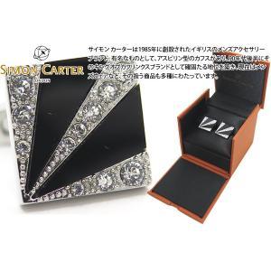 SIMON CARTER サイモン・カーター デコサンバーストカフス(オニキス) (カフスボタン) cufflink