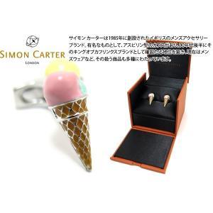 SIMON CARTER サイモン・カーター バイザシーアイスクリームカフス (カフスボタン カフリンクス)|cufflink