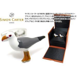 SIMON CARTER サイモン・カーター バイザシーカモメカフス (カフスボタン カフリンクス)|cufflink