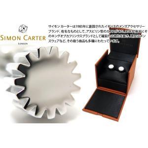 SIMON CARTER サイモン・カーター コグカフス (カフスボタン カフリンクス)|cufflink