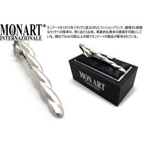MONART モンアート ツイストロングタイクリップ (ネクタイピン ネクタイバー)|cufflink