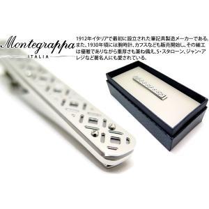 MONTEGRAPPA モンテグラッパ フィリグリータイバー(スティール) (タイピン タイクリップ)|cufflink