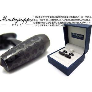 MONTEGRAPPA モンテグラッパ スカルバレットシェイプカフス (カフスボタン カフリンクス)|cufflink