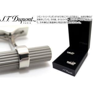 (ポイント10倍)S.T.Dupont エス・テー・デュポン バトンデュオポールカフス (カフスボタン カフリンクス) ブランド|cufflink
