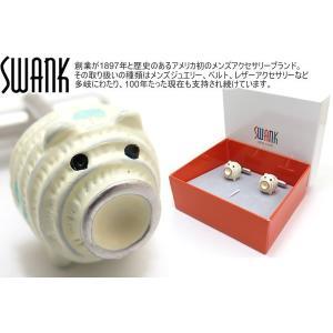 SWANK スワンク 豚蚊取りカフス (カフスボタン カフリンクス)|cufflink