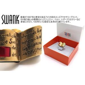 SWANK スワンク 本ピンズ(ゴールド) (ラペルピン スタッズ ブローチ)|cufflink