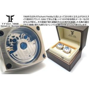 TF Est.1968 ティーエフエスト1968 オートマティックカフス(シャイニーステンレス) ブランド|cufflink