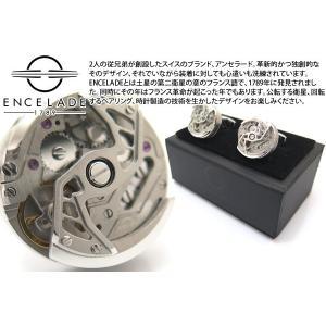 ENCELADE 1789 アンセラード1789 ローターコレクションカフス(ステンレス) ブランド|cufflink