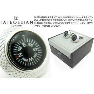 TATEOSSIAN タテオシアン コンパスカフス(ブラック) (カフスボタン カフリンクス) ブランド|cufflink