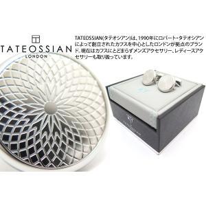 TATEOSSIAN タテオシアン ギローシュカフス(ステンレス) (カフスボタン カフリンクス) ブランド|cufflink