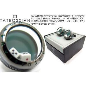 TATEOSSIAN タテオシアン メカニカルダイスカフス (カフリンクス) ブランド|cufflink