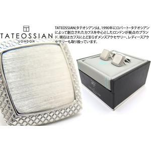 TATEOSSIAN タテオシアン ビジネス サテンクアドラートカフス (カフリンクス) ブランド|cufflink
