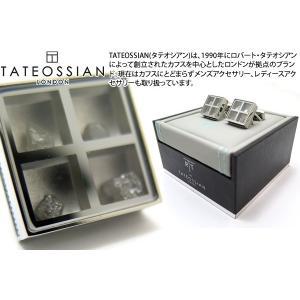 TATEOSSIAN タテオシアンユニーク プレシャスウィンドウカフス(ラフダイヤモンド約1.91cts) (カフスボタン カフリンクス) ブランド|cufflink