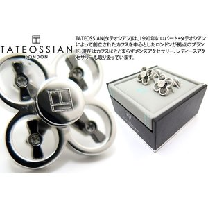 TATEOSSIAN タテオシアン インダストリアルミニドローンカフス(ロジウム) (カフスボタン カフリンクス) ブランド|cufflink