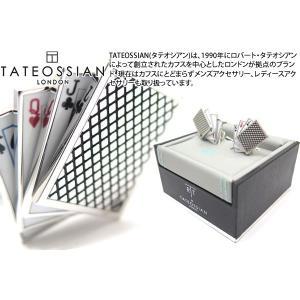 TATEOSSIAN タテオシアン プレイタイム トランプカフス (カフスボタン カフリンクス) ブランド|cufflink