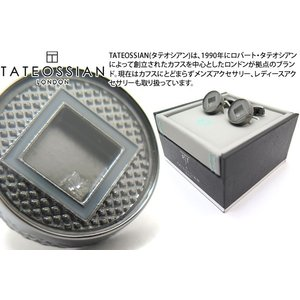 TATEOSSIAN タテオシアン ユニーク プレシャスウィンドウラウンドカフス(ダイヤモンド) (カフスボタン カフリンクス) ブランド|cufflink