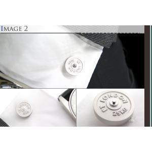 TATEOSSIAN タテオシアン インダストリアル フリーウエイトカフス(マットロジウム) (カフスボタン カフリンクス) ブランド cufflink 04