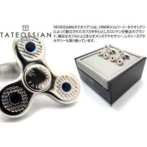 TATEOSSIAN タテオシアン メカニカル ハンドスピナーカフス(ロジウム) (カフスボタン カフリンクス) ブランド|cufflink