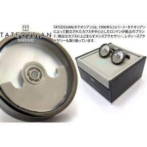 TATEOSSIAN タテオシアン メカニカル ペンデュラムカフス(白蝶貝) (カフスボタン カフリンクス) ブランド|cufflink