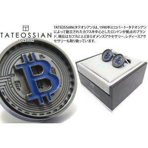 TATEOSSIAN タテオシアン ノベルティ ブロックチェーンカフス(ガンメタル) (カフスボタン カフリンクス) ブランド|cufflink