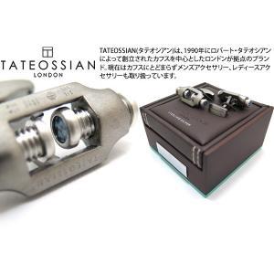 TATEOSSIAN タテオシアン ダブルボルトシルバーカフス (カフスボタン カフリンクス)|cufflink