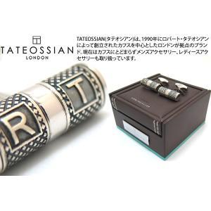 TATEOSSIAN タテオシアン ラッキーミーシルバーカフス (カフスボタン カフリンクス)|cufflink