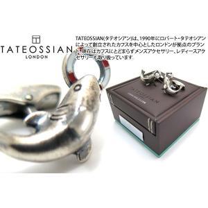 TATEOSSIAN タテオシアン ノベルティ アンティークシャークカフス (カフスボタン カフリンクス)|cufflink
