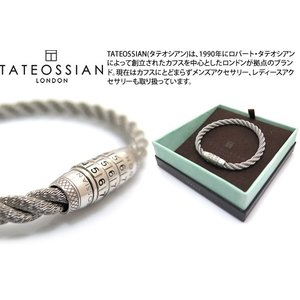 TATEOSSIAN タテオシアン シルバーロック777ブレスレット(マリンステンレス) ブランド|cufflink