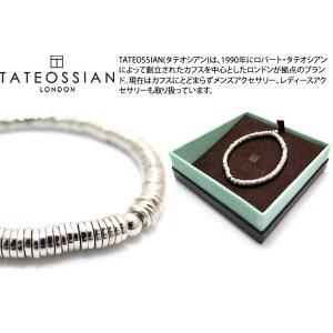 TATEOSSIAN タテオシアン ピュア シルバーピュアディスクブレスレット(スターリングシルバー) - ブランド|cufflink