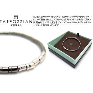 TATEOSSIAN タテオシアン バンブー シルバーピュアバンブーブレスレット(ロジウム&ルテニウム) - ブランド|cufflink