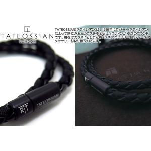 TATEOSSIAN タテオシアン チェルシーブレスレット(ブラックブラック) - ブランド|cufflink