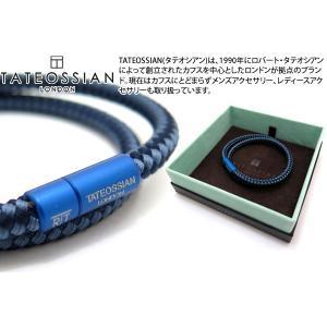 TATEOSSIAN タテオシアン デュオトーンブレスレット(ネイビー) ブランド|cufflink