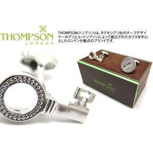 THOMPSON トンプソン ローテーティングキーアンドロックカフス (カフスボタン カフリンクス) ブランド|cufflink