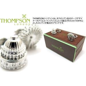 THOMPSON トンプソン ロンドンアーキテクチャカフス(ロンドンアイ、セントポール) (カフスボタン カフリンクス) ブランド|cufflink