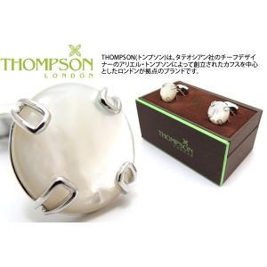 THOMPSON トンプソン ボタンカフス(白蝶貝) (カフスボタン カフリンクス) ブランド|cufflink