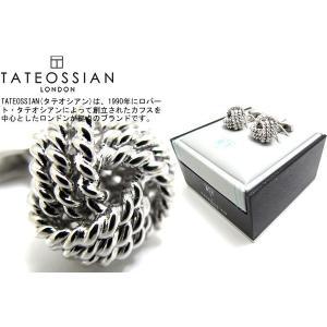 TATEOSSIAN タテオシアン ラウンドノットカフス (カフスボタン カフリンクス) ブランド|cufflink