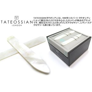 TATEOSSIAN タテオシアン 白蝶貝カラーキーパー ブランド|cufflink