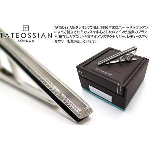 TATEOSSIAN タテオシアン シルバータイクリップ(フレーム) (タイピン タイクリップ) ブランド cufflink