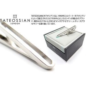 TATEOSSIAN タテオシアン ウィンドウタイバー(ロジウム) (タイピン タイクリップ) ブランド|cufflink