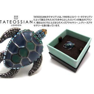 TATEOSSIAN タテオシアン メカニマルズピンズ(タートル) (スタッズ ブローチ) ブランド|cufflink
