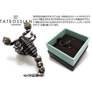 TATEOSSIAN タテオシアン メカニマルズピンズ(スコーピオン) (スタッズ ブローチ) ブランド cufflink