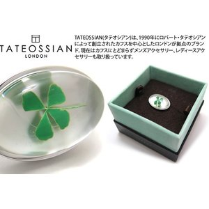 TATEOSSIAN タテオシアン ネイチャーピンズ(クローバー) (スタッズ ブローチ) ブランド|cufflink