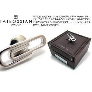 TATEOSSIAN タテオシアン シルバー ペーパークリップピンズ (スタッズ ブローチ) ブランド|cufflink